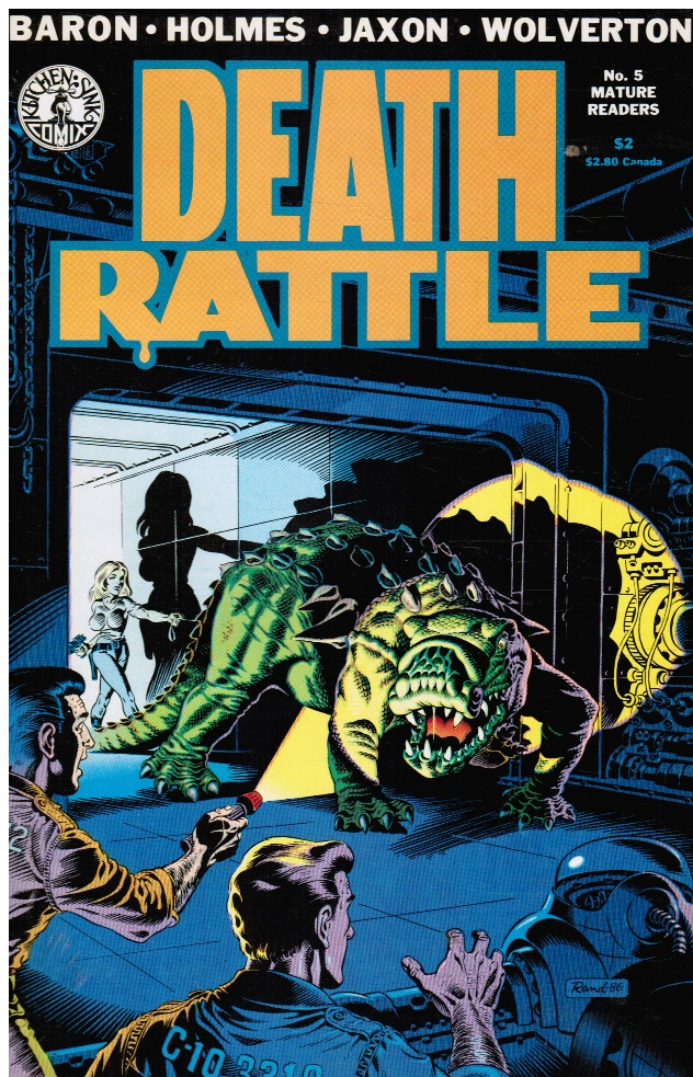 Image for Death Rattle #5