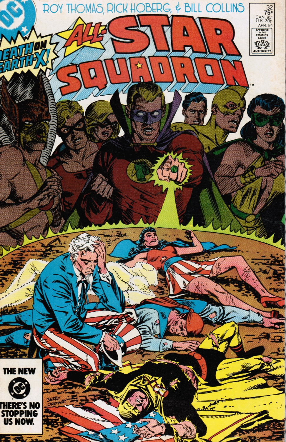 Image for All-Star Squadron (Comic) April 1984, No. 32