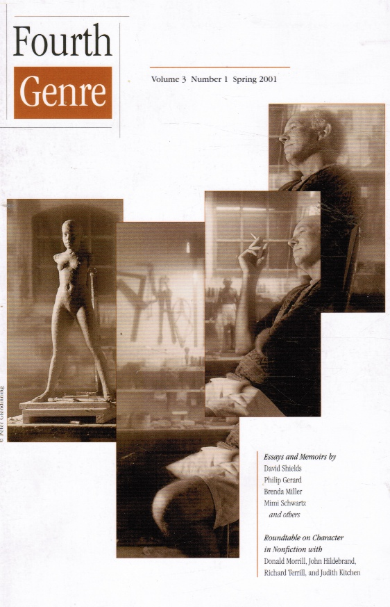 Image for Fourth Genre: Explorations in Nonfiction: Volume 3, Number 1, Spring 2001
