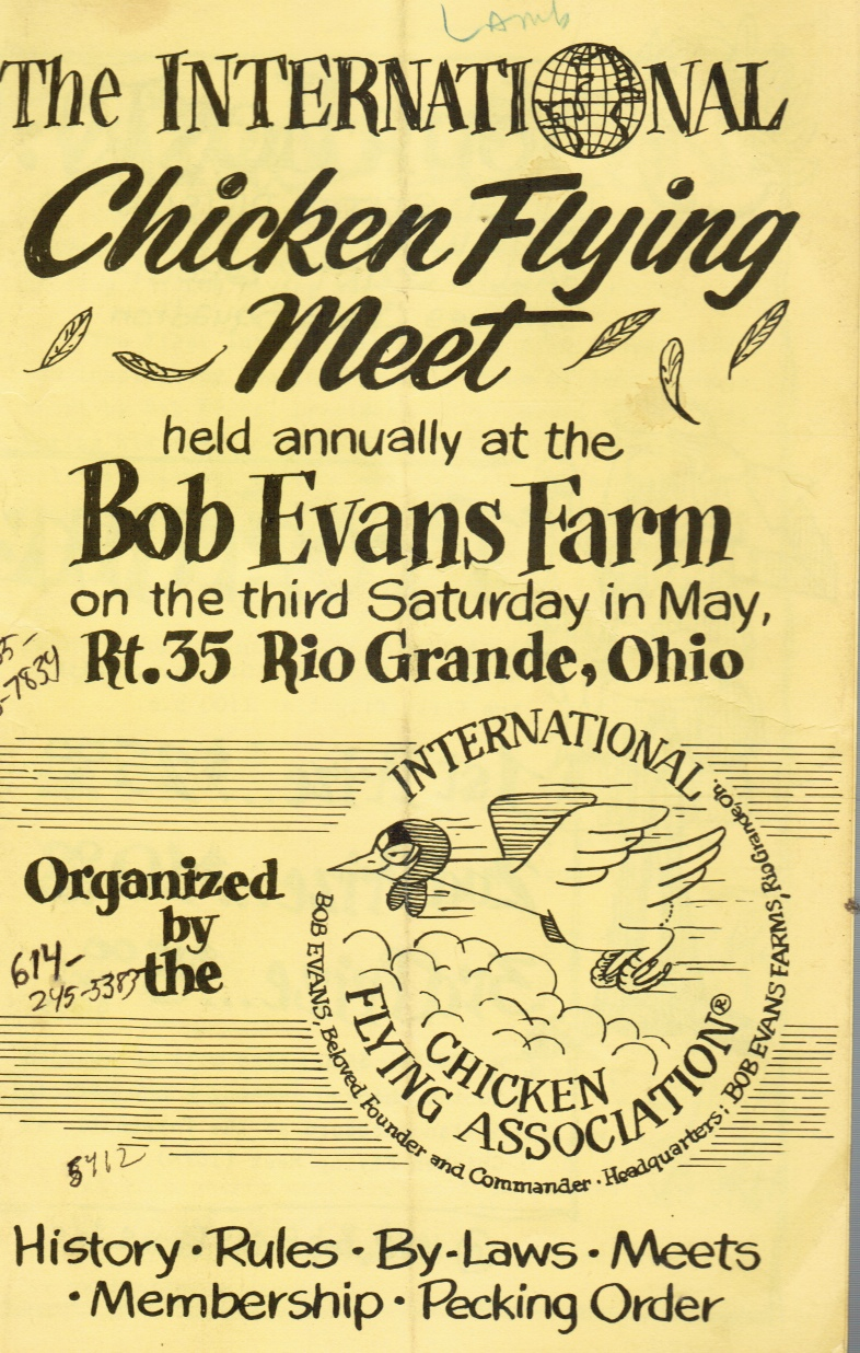 Image for The International Chicken Flying Meet