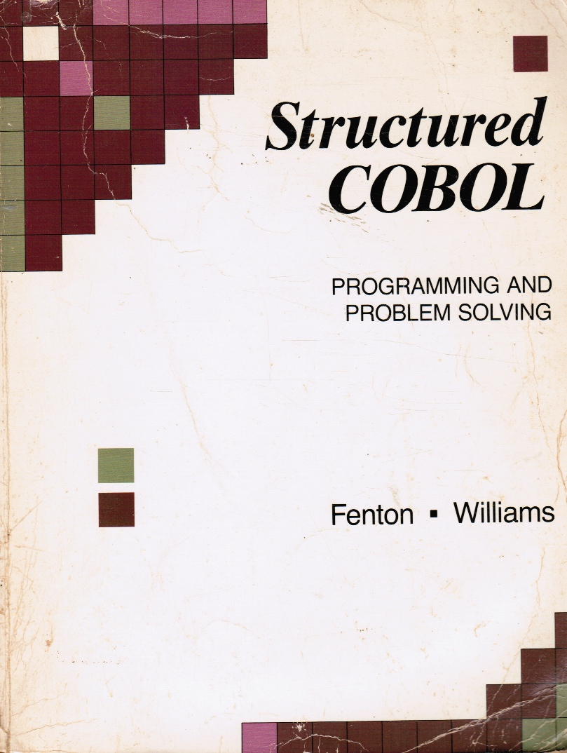 Image for Structured Cobol: Programming and Problem Solving