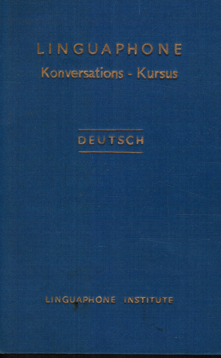 Image for Linguaphone Konversations-Kursus Deutsch
