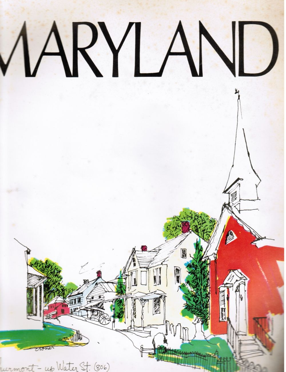 Image for Maryland Magazine: Volume 5, Number 4, Summer 1973