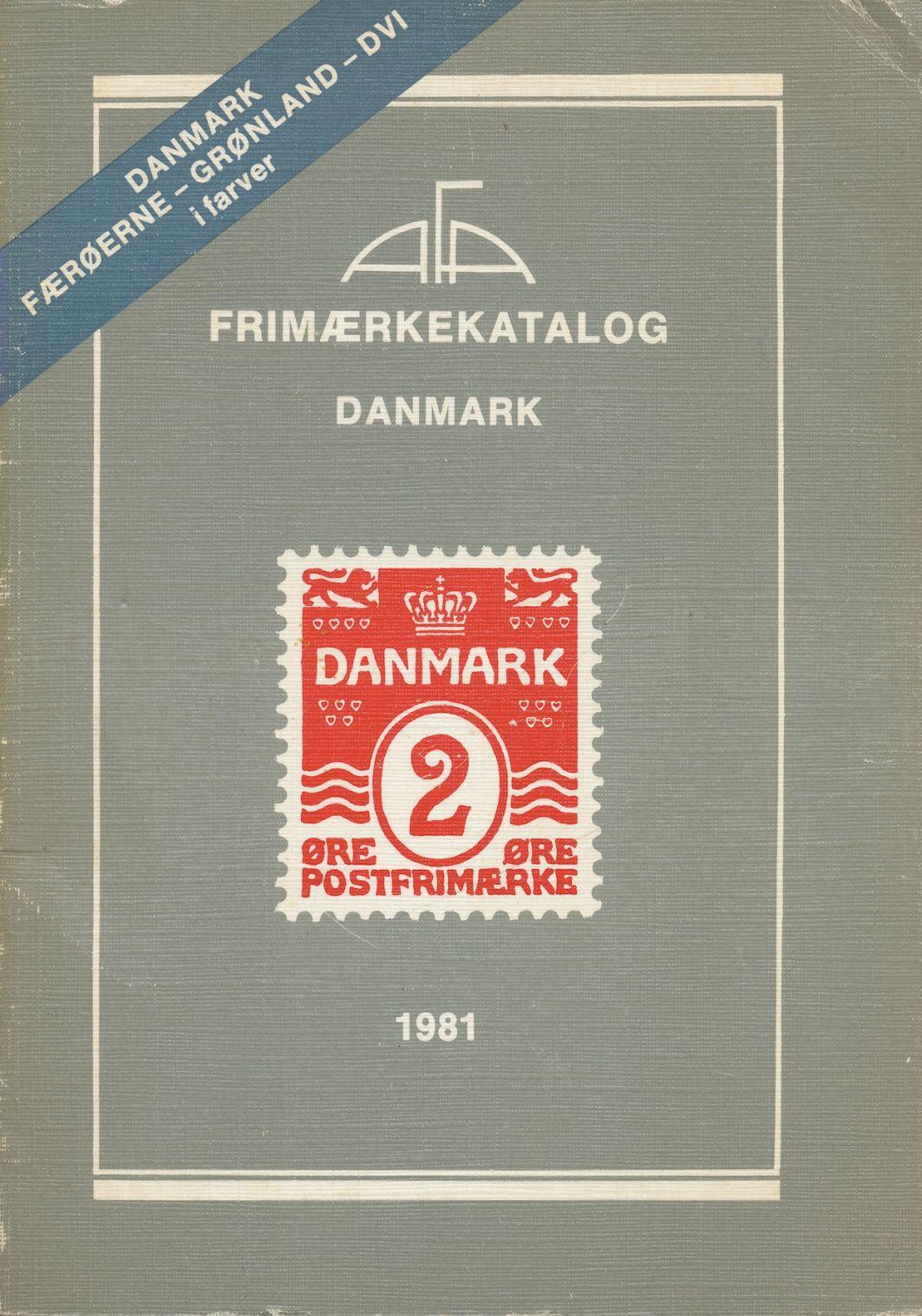 Image for Frimaerkekatalog: Danmark