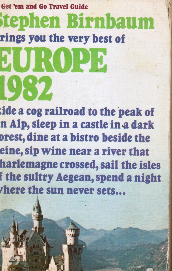 Image for Europe 1982