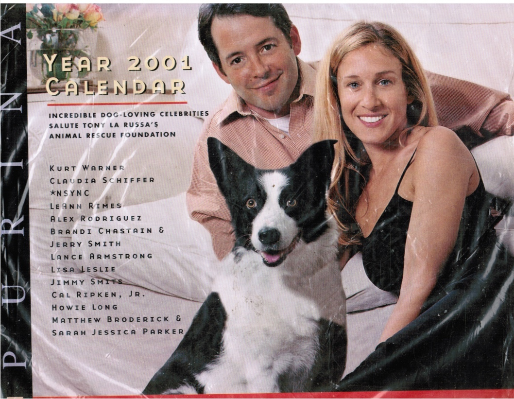 Image for Purina Year 2001 Calendar Incredible Dogs