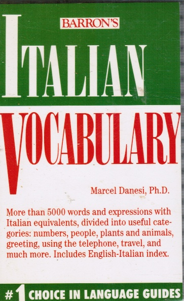 Image for Italian Vocabulary