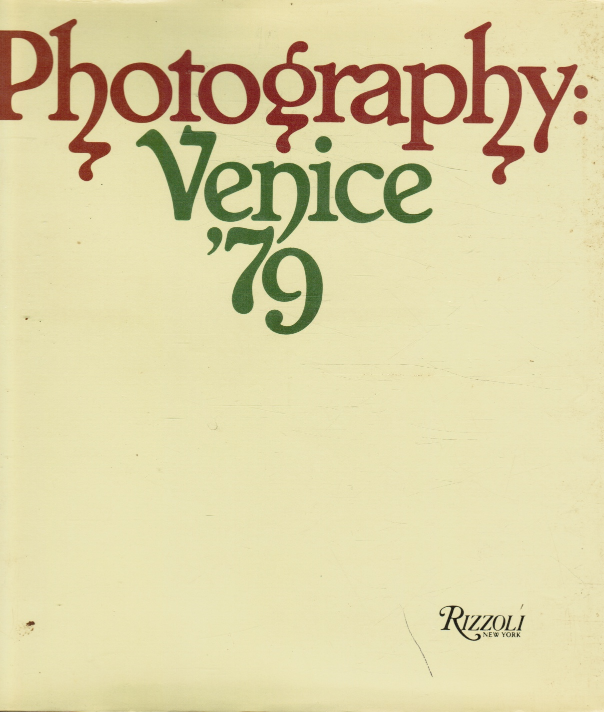 Image for Photography, Venice '79