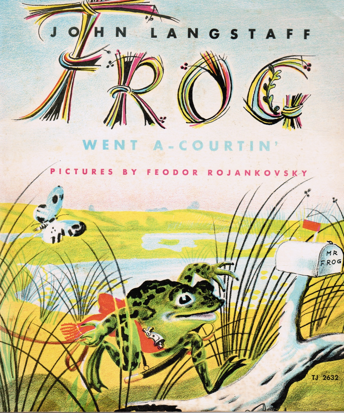 Image for Frog Went A-Courtin'