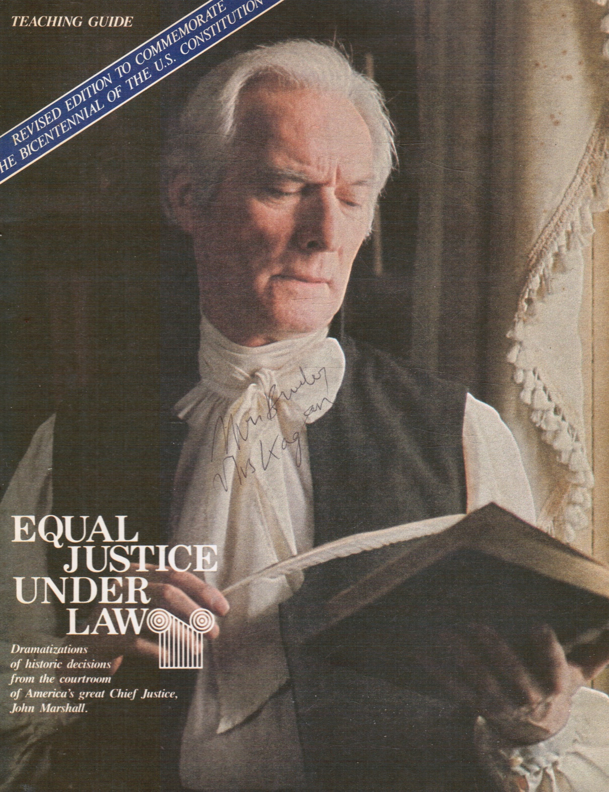 Image for Equal Justice under Law: John Marshall, Chief Justice