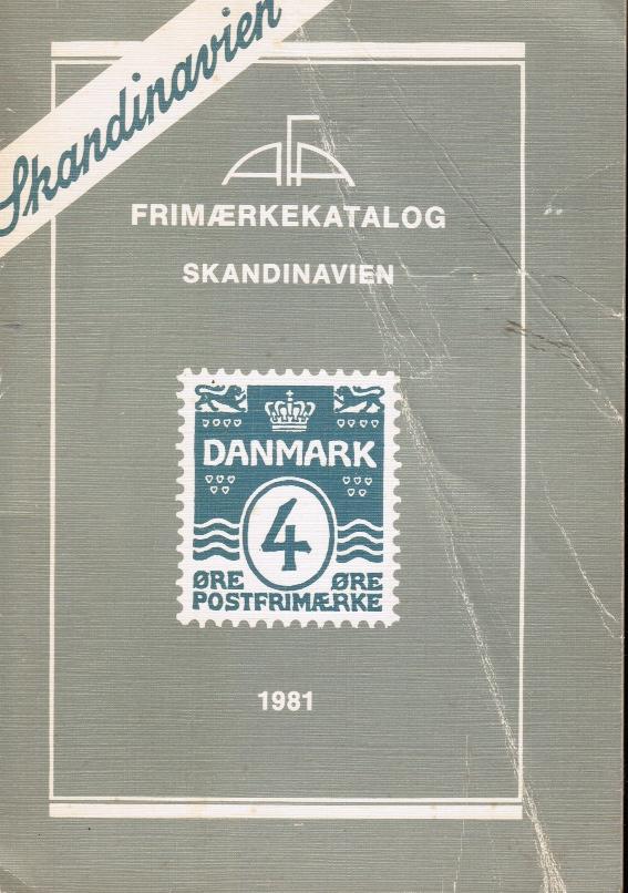 Image for Skandinavien Frimaerkekatalog 1981