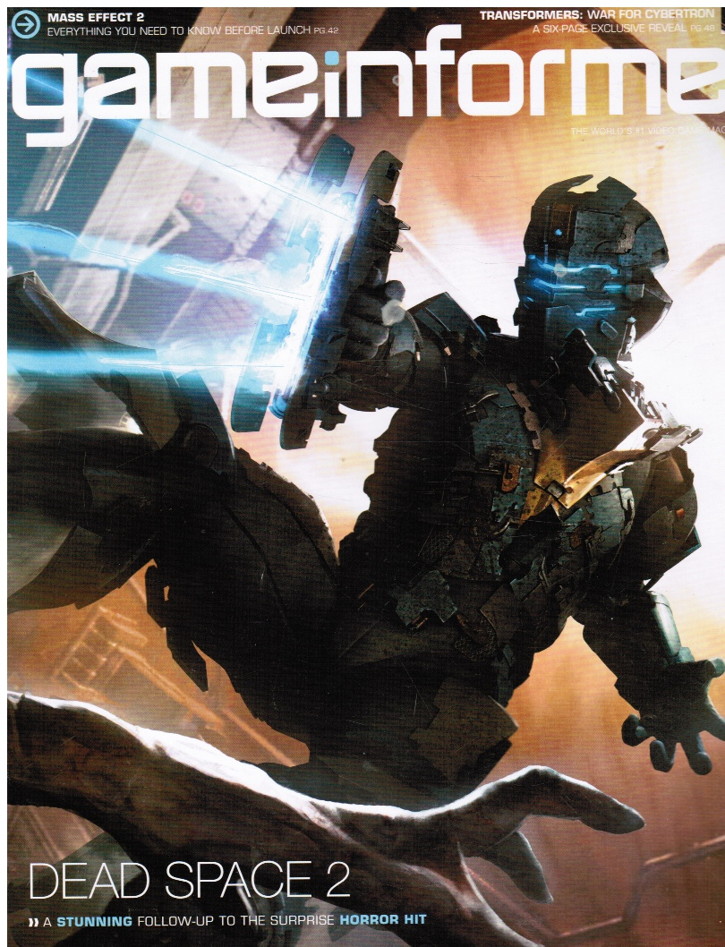 Image for Gameinformer: January 2010 (Issue 201) (Dead Space 2, Mass Effect 2; Transformers: War for Cybertron)