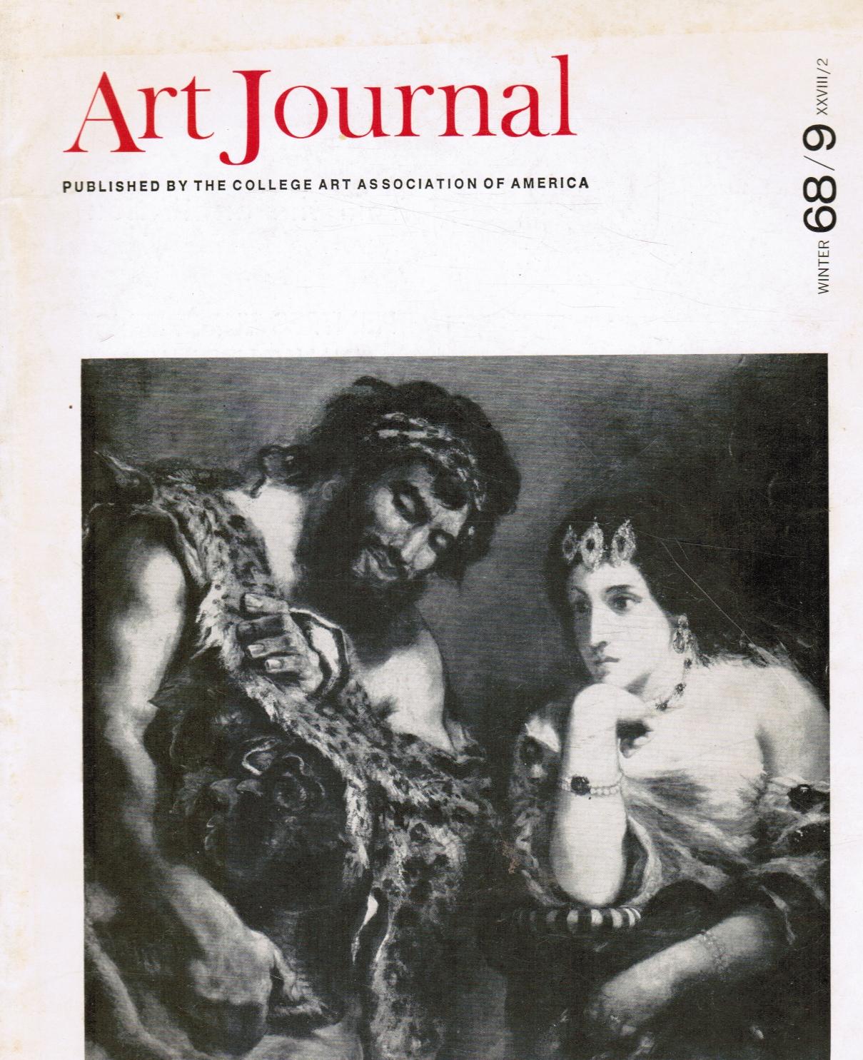 Image for Art Journal: Fall 68 XXVIII/1 Gothic Europe, Sprezzatura, Wilhelm Voge, Jan Van Eyck