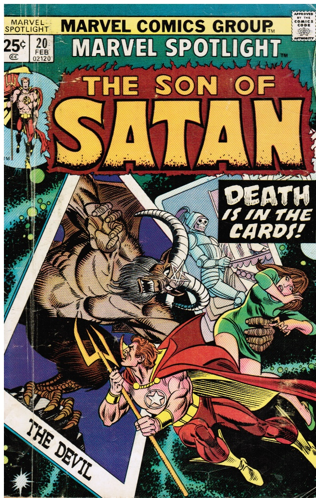 Image for The Son of Satan #20
