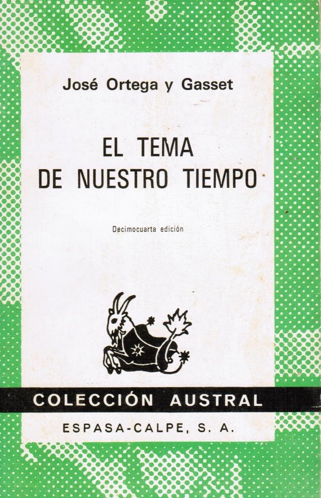 Image for El Tema De Nuestro Tiempo