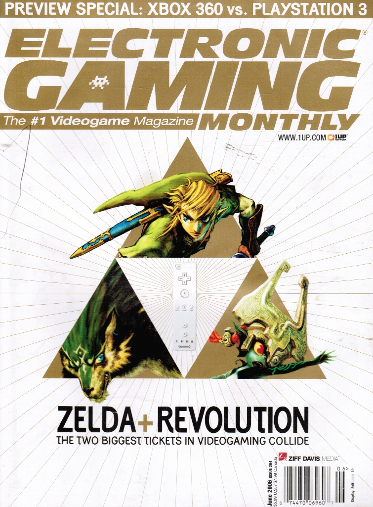 Image for Electronic Gaming Monthly 204 Legend of Zelda: June 2006