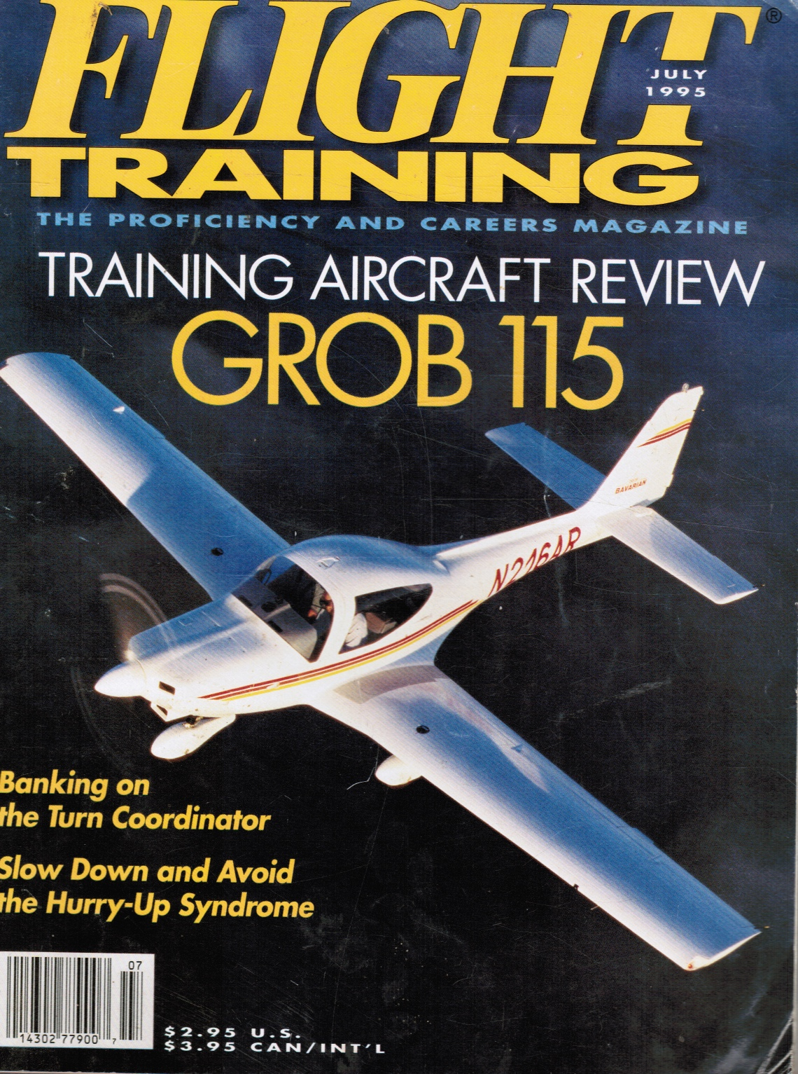 Image for Flight Training: the Proficiency and Careers Magazine - July 1995