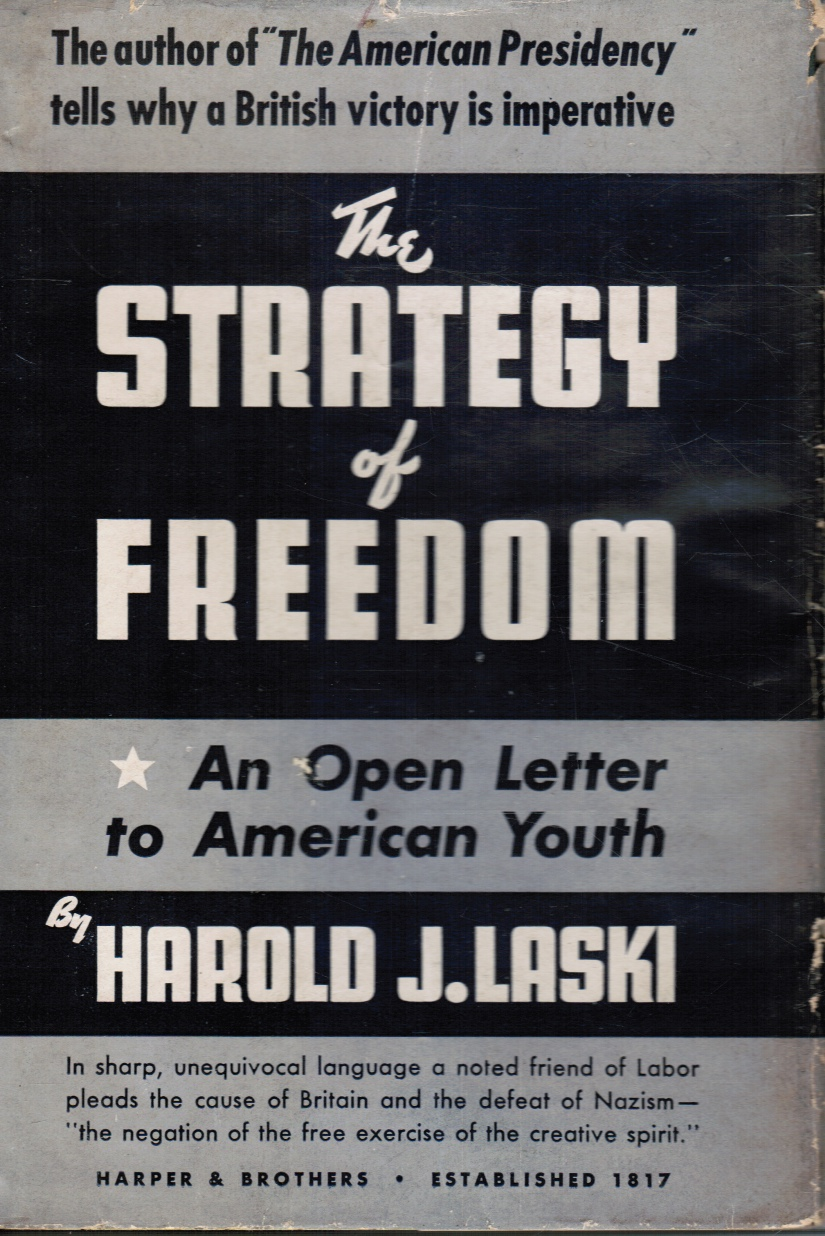 Image for The Strategy of Freedom: an Open Letter to American Youth