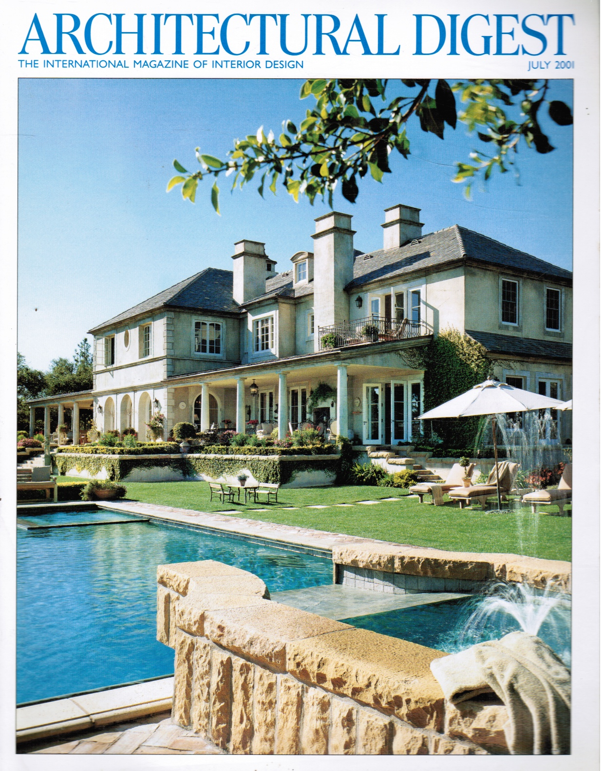 Image for Architectural Digest : July 2001
