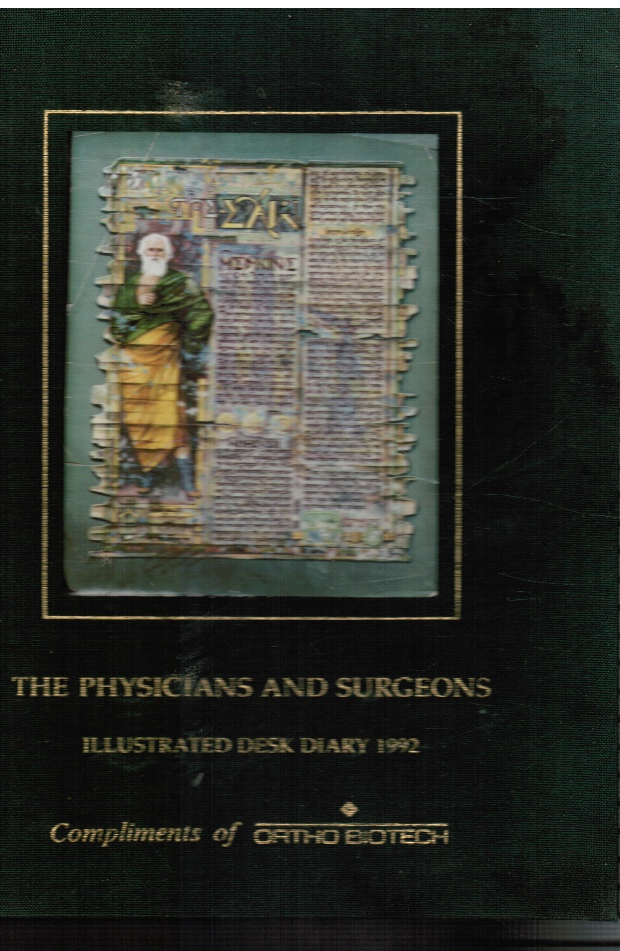 Image for The Physicians and Surgeons: Illustrated Desk Diary 1992