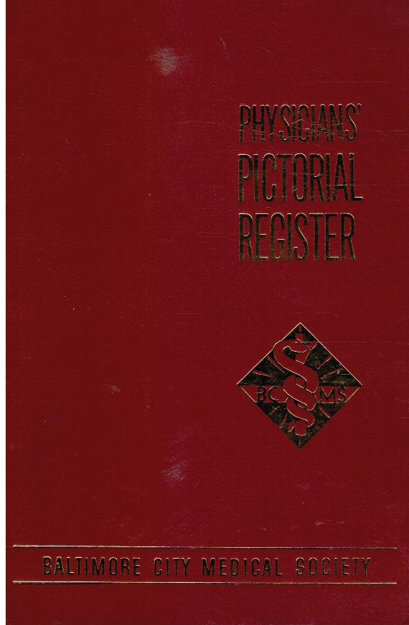 Image for Physicians' Pictorial Register