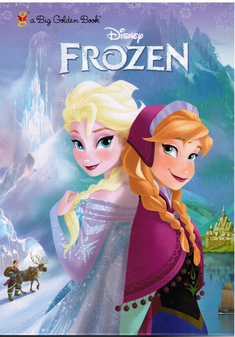 DISNEY - Frozen Big Golden Book