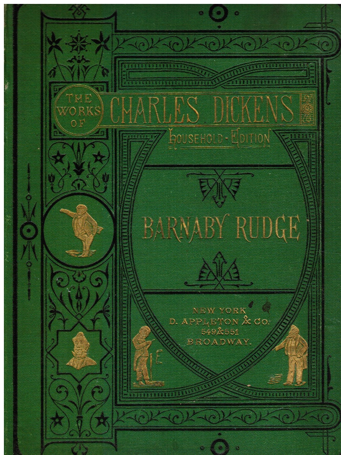 "Image for Barnaby Rudge: a Tale of the Riots of ""Eighty"""