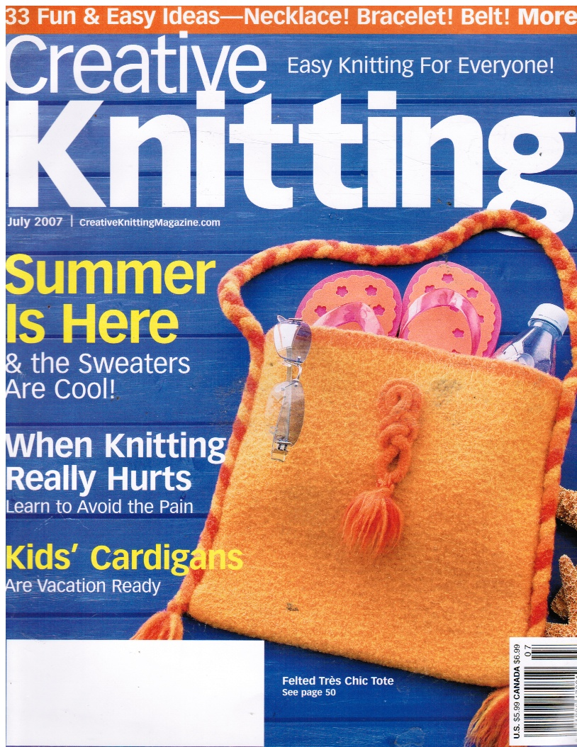 Image for Creative Knitting: July 2007