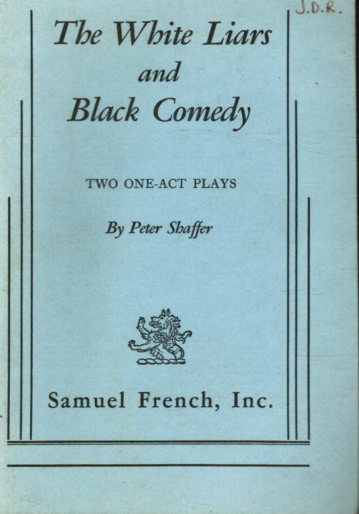 Image for The White Liars and Black Comedy: Two One-Act Plays