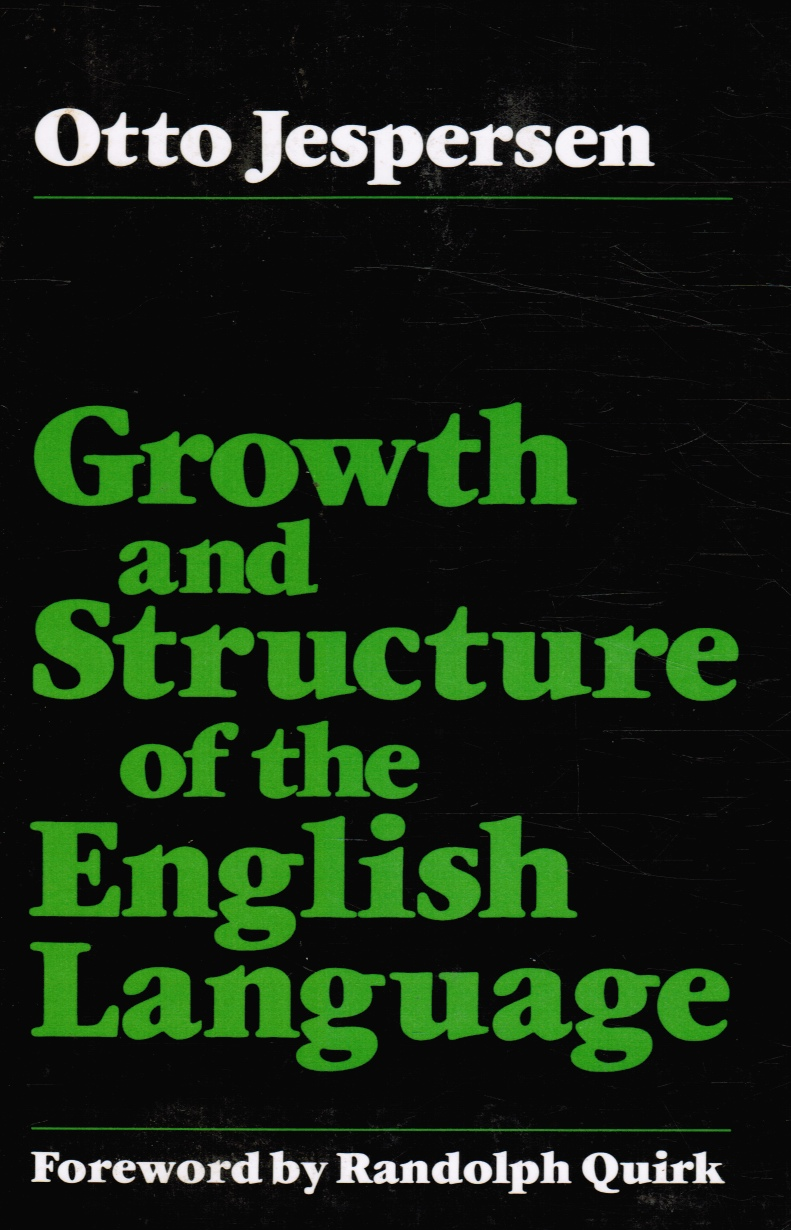 Image for Growth and Structure of the English Language