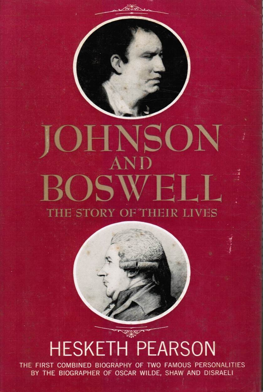Image for Johnson and Boswell: the Story of Their Lives