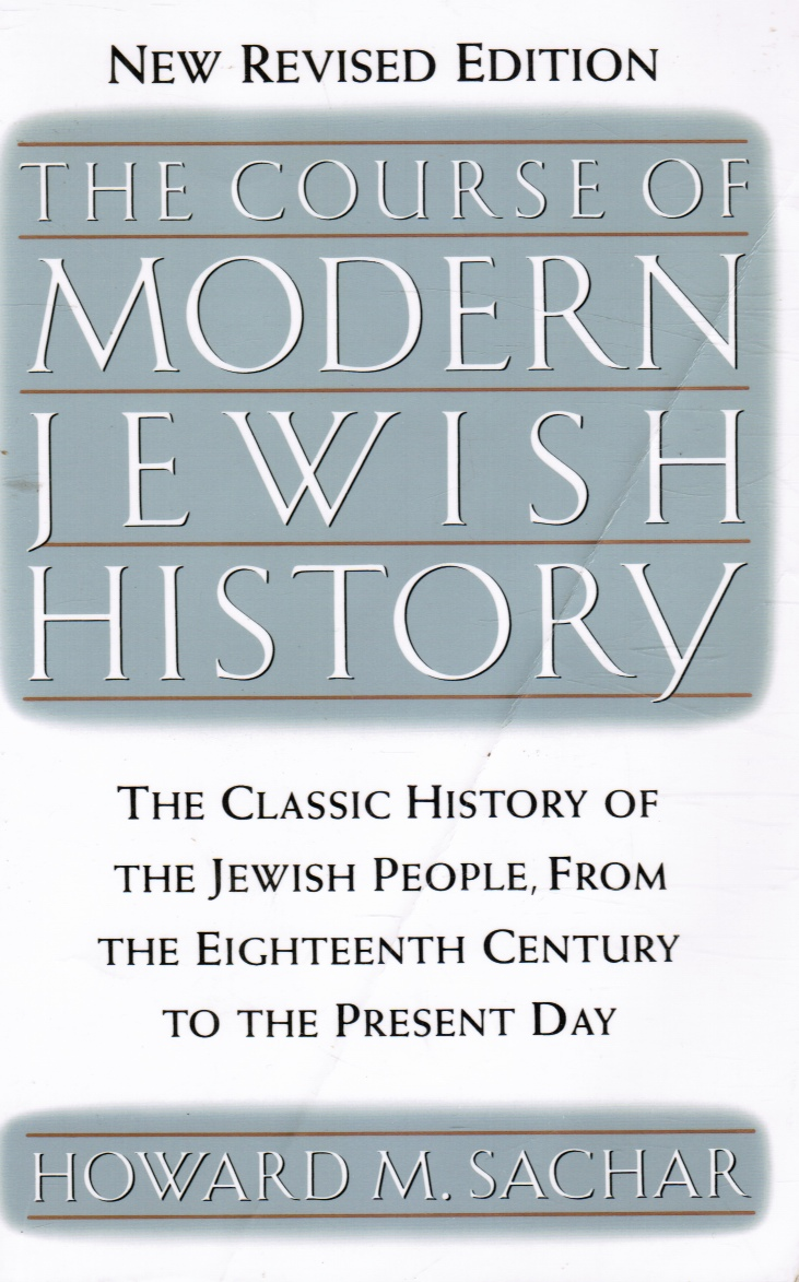 Image for The Course of Modern Jewish History