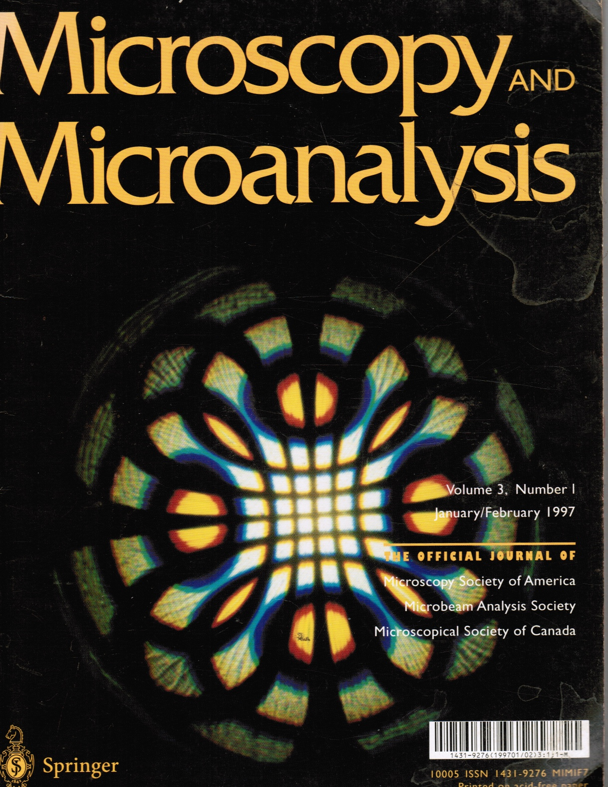 Image for Microscopy and Microanalysis, Jan-Feb 1977