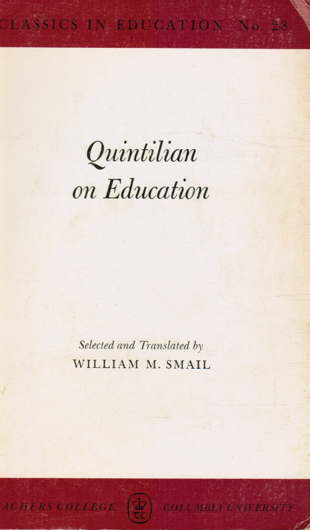 Image for Quintilian on Education