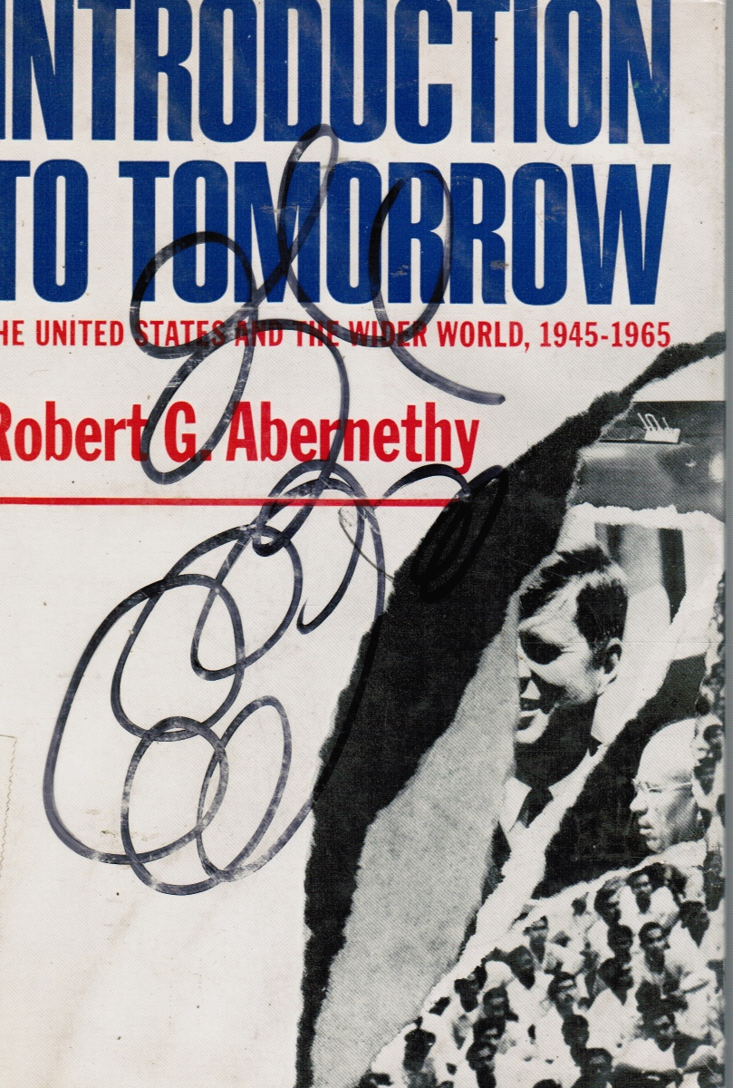 Image for Introduction to Tomorrow: the United States and the Wider World, 1945-1965