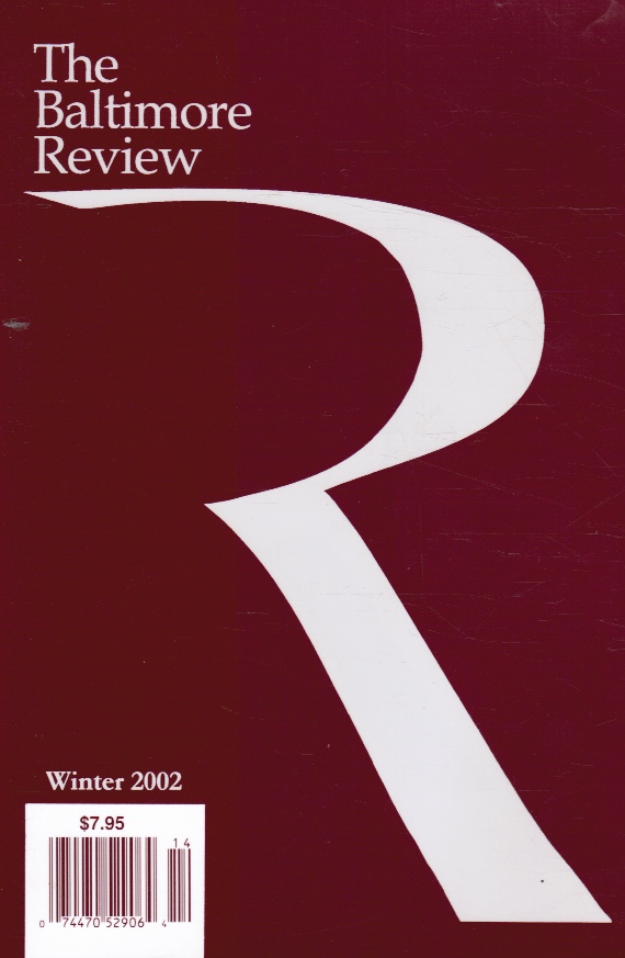Image for The Baltimore Review: Winter 2002
