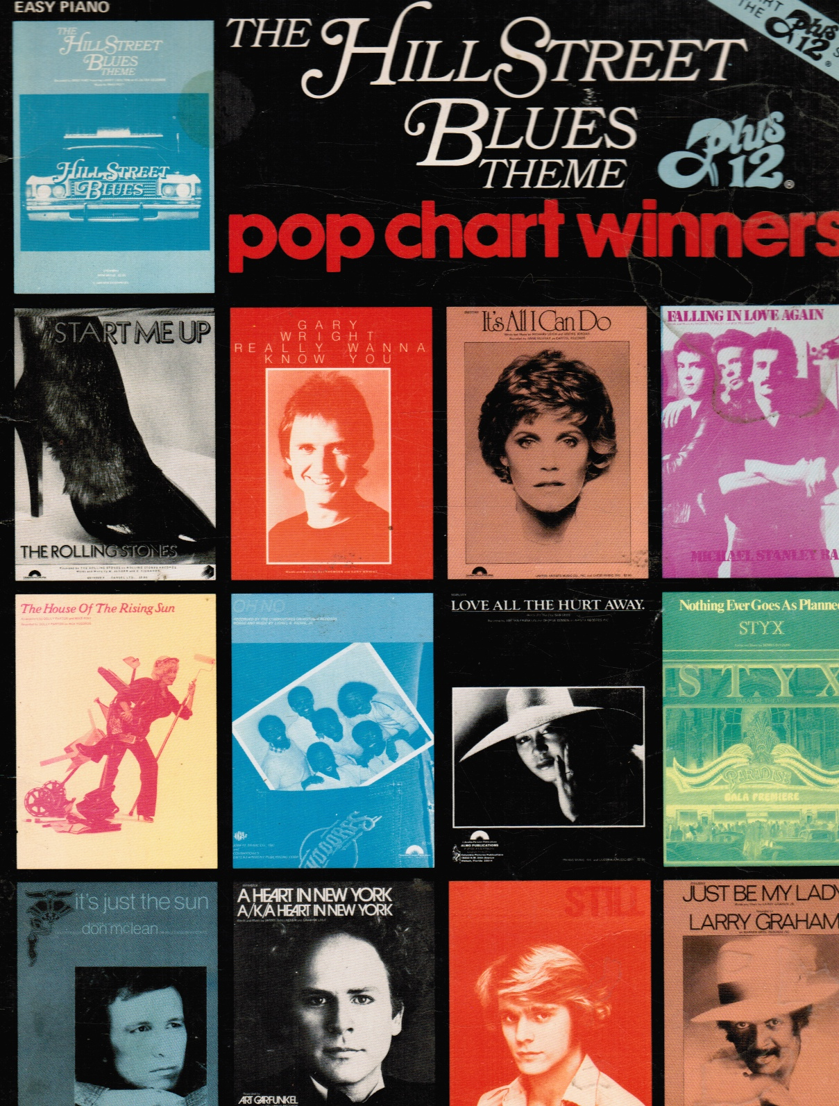 Image for The Hill Street Blue Theme Plus 1 Pop Chart Winners