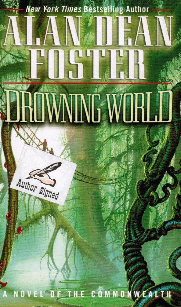 Image for Drowning World (SIGNED)  A Novel of the Commonwealth