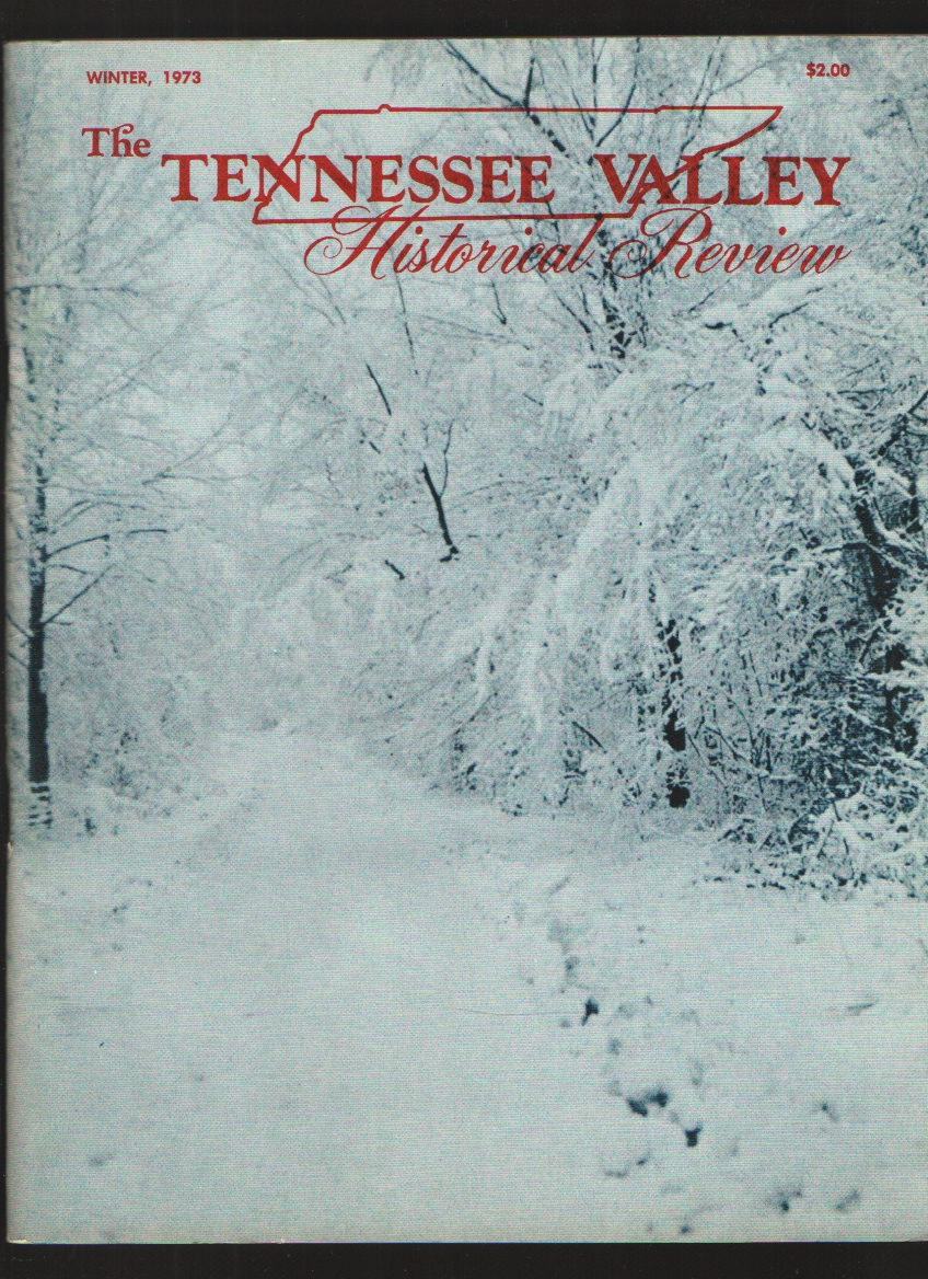 Image for The Tennessee Historical Review, Winter, 1973