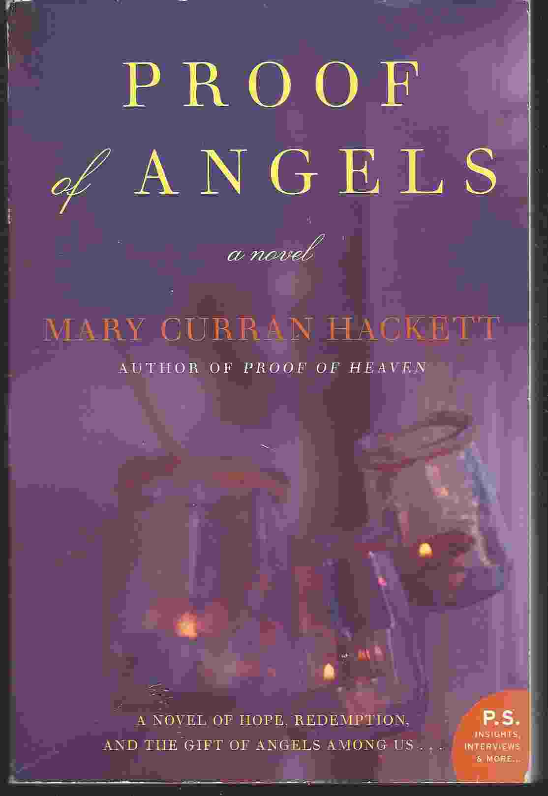 Image for PROOF OF ANGELS  A Novel