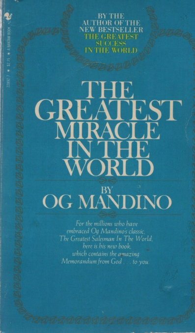 Image for THE GREATEST MIRACLE IN THE WORLD