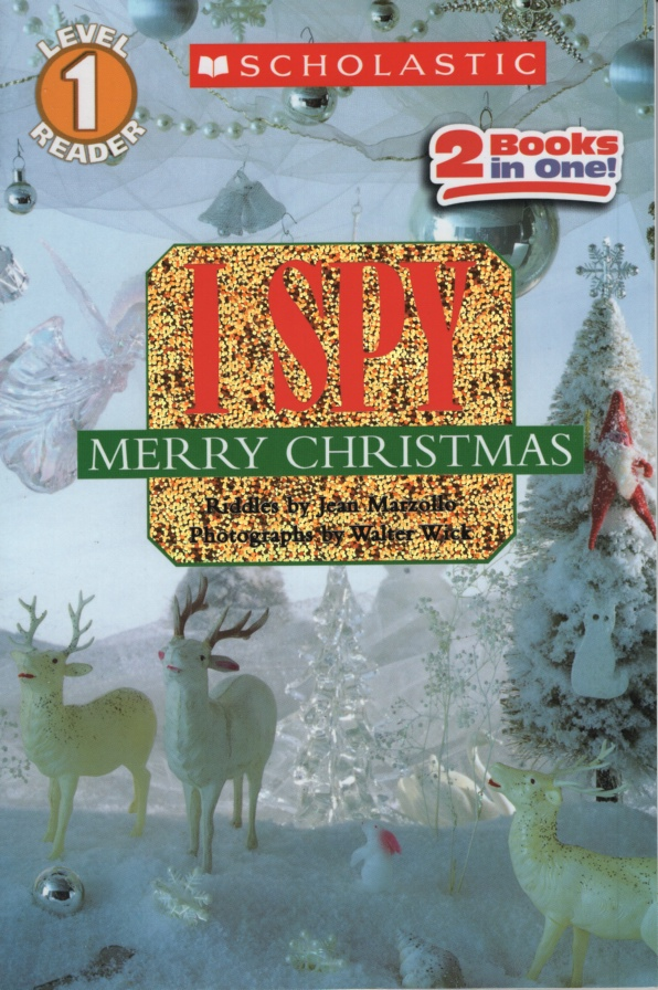 Image for I SPY MERRY CHRISTMAS 2 in 1 - I Spy Santa Claus and I Spy a Candy Cane