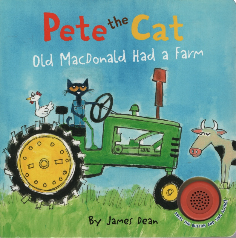 Image for PETE THE CAT OLD MACDONALD HAD A FARM WITH SOUND