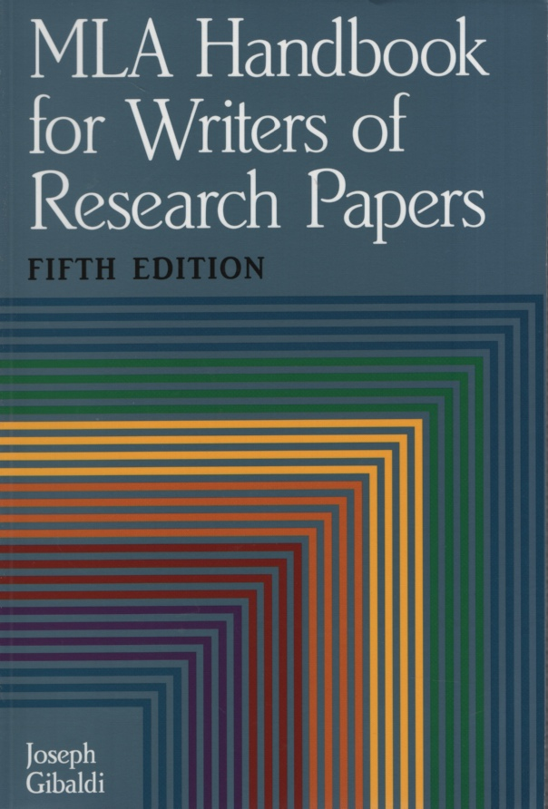 Image for MLA HANDBOOK FOR WRITERS OF RESEARCH PAPERS, FIFTH EDITION