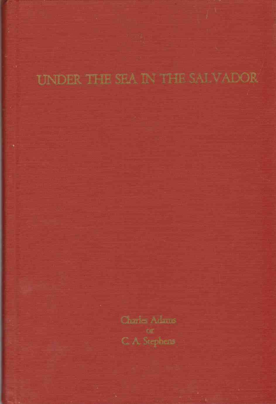 Image for UNDER THE SEA IN THE SALVADOR The Story-Teller's Edition