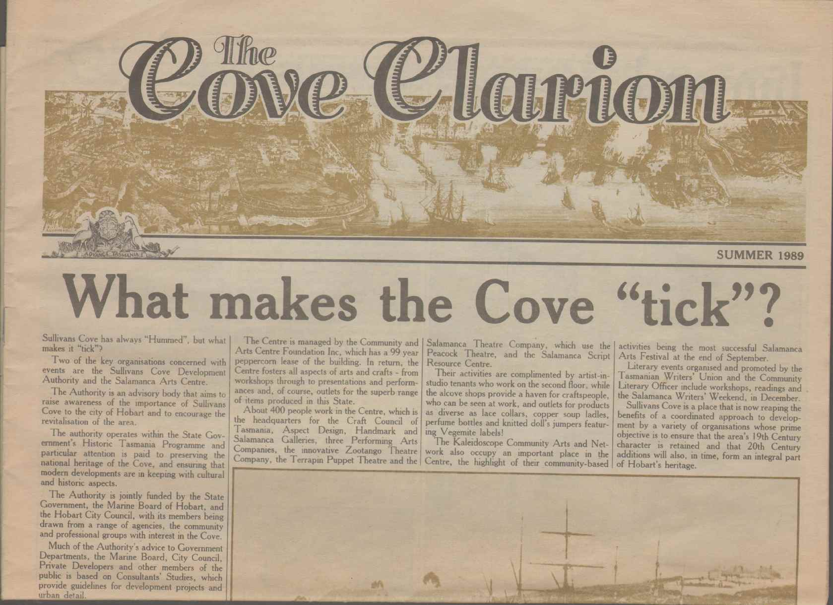 THE COVE CLARION Summer 1989