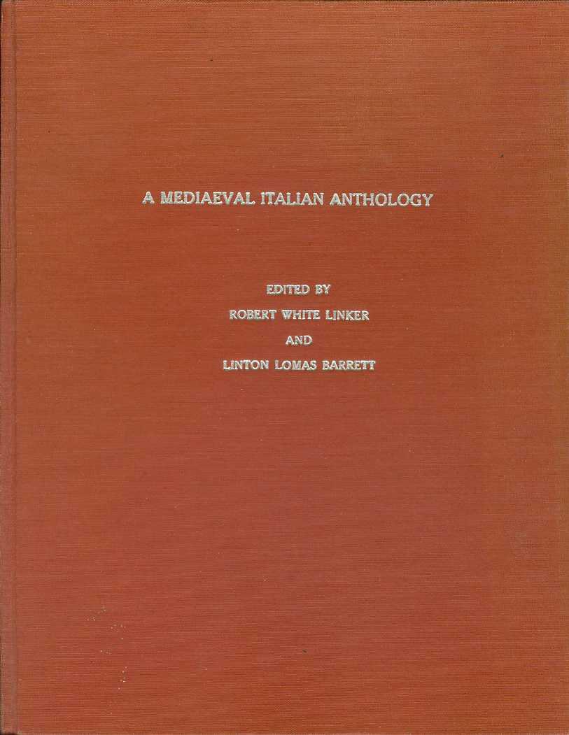 Image for A MEDIAEVAL ITALIAN ANTHOLOGY