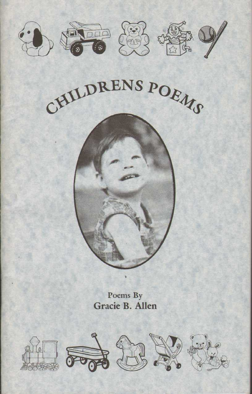 CHILDRENS POEMS, Allen, Gracie B.