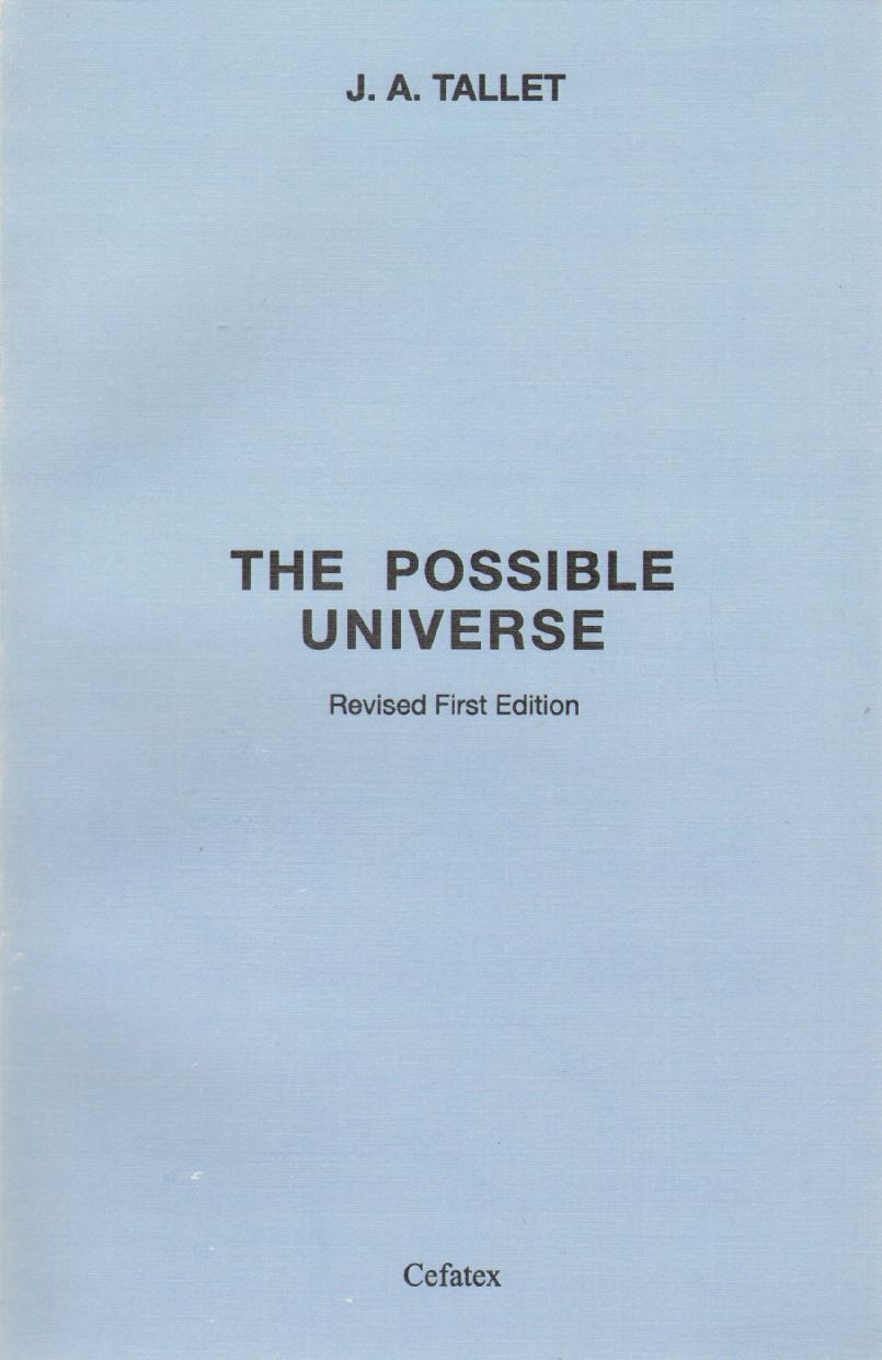 Image for THE POSSIBLE UNIVERSE
