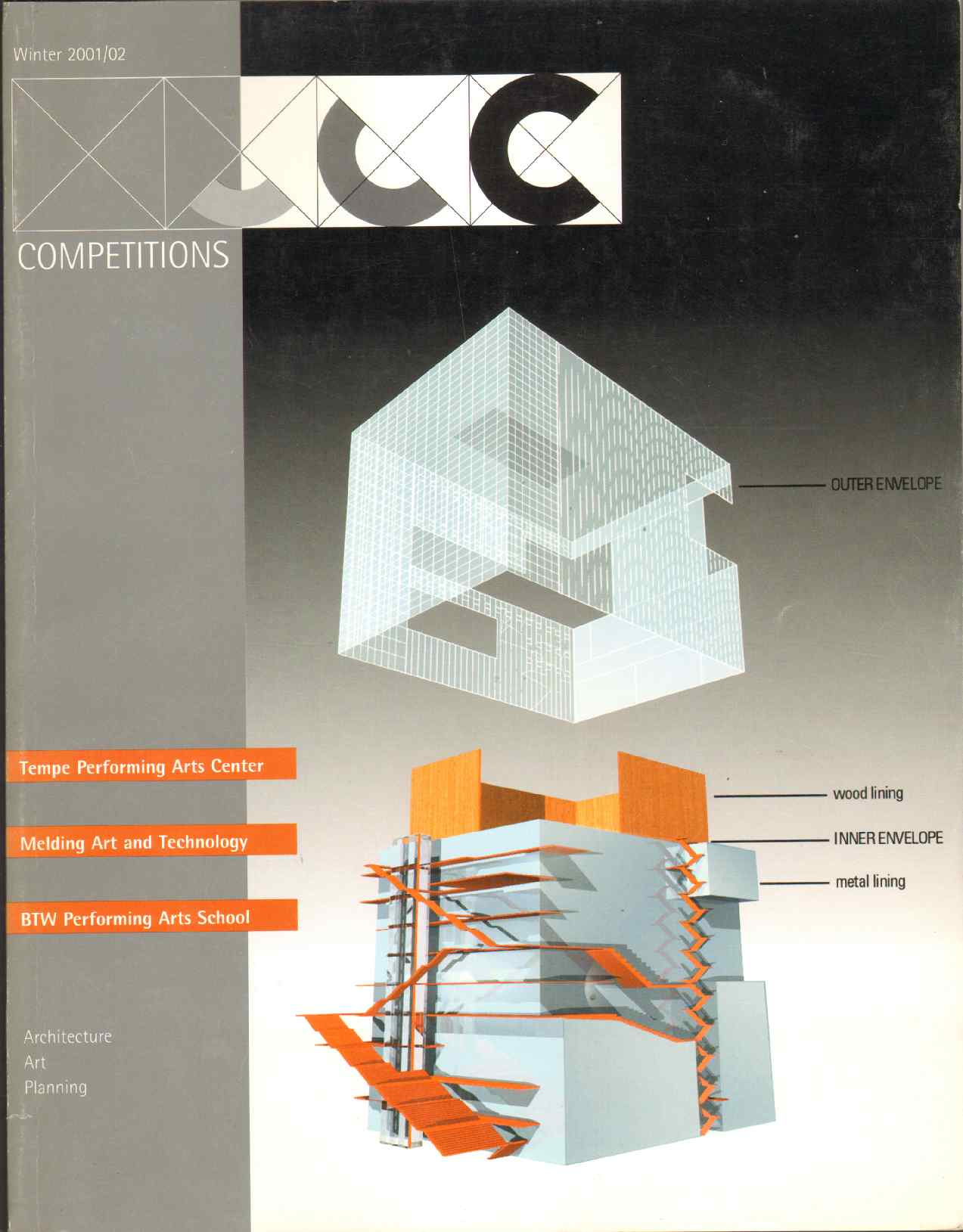 COMPETITIONS - Architecture, Art, Planning - Winter 2001/2002 Volume 11, Number 4, Collyer, G. Stanley; editor
